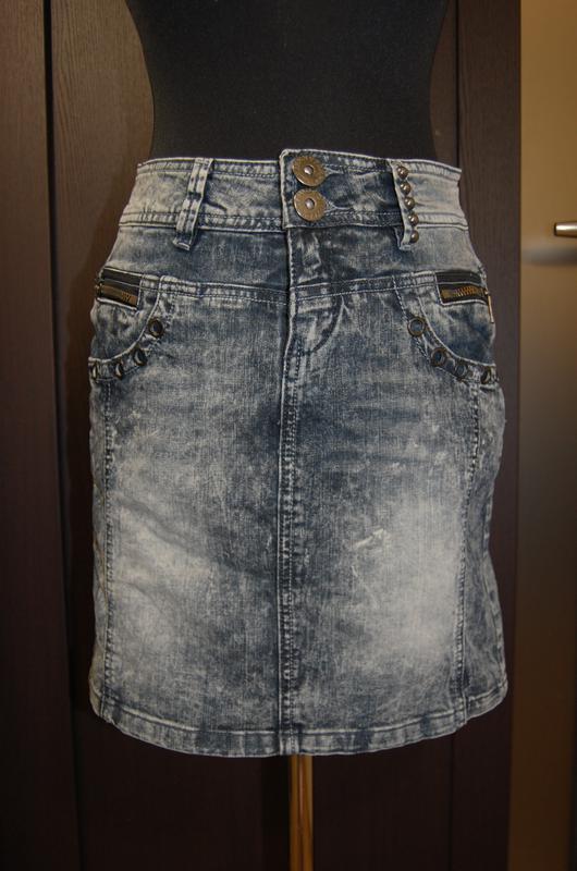 d6b9d6a9611 Стильная вареная джинсовая юбка варенка jennyfer m1 фото ...