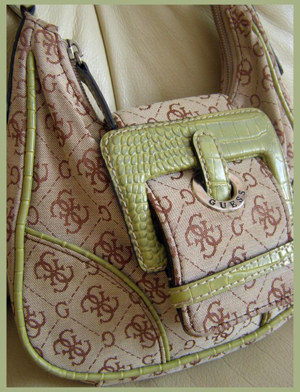 Стильная мини сумка – брендированный текстиль – guess – authentic1 ... 0a743d9cecddb