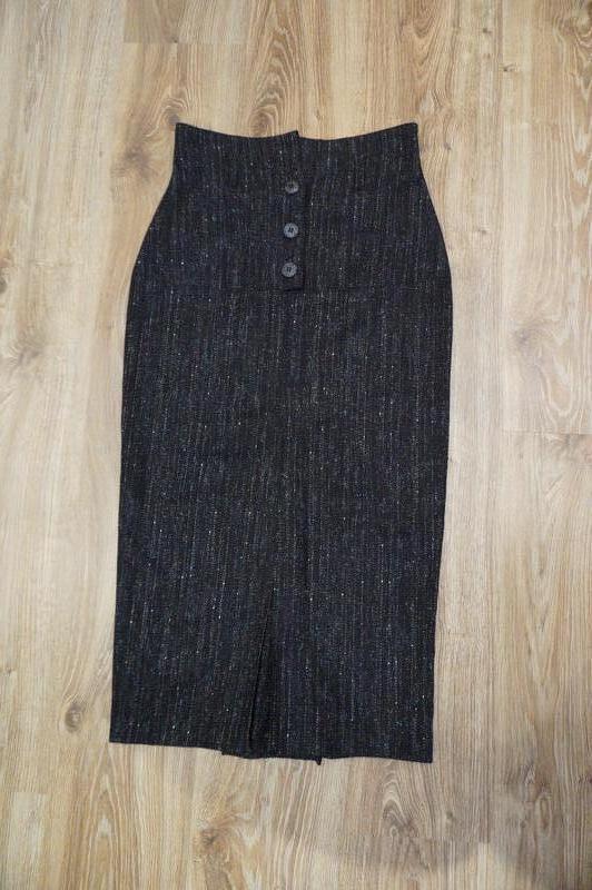 Юбка миди высоченная талия ретро винтаж шерсть Reclaimed Vintage, цена - 480 грн, #52111580, купить по доступной цене | Украина - Шафа