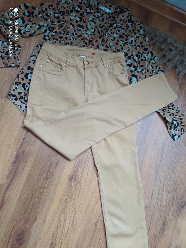 ??стрейчевые горчичные трендовые джинсы onado jeans Gloria Jeans, цена - 200 грн, #52196488, купить по доступной цене | Украина - Шафа