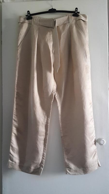 Шикарные льняные брюки marks&spencer песочного цвета Marks & Spencer, цена - 290 грн, #52235294, купить по доступной цене | Украина - Шафа