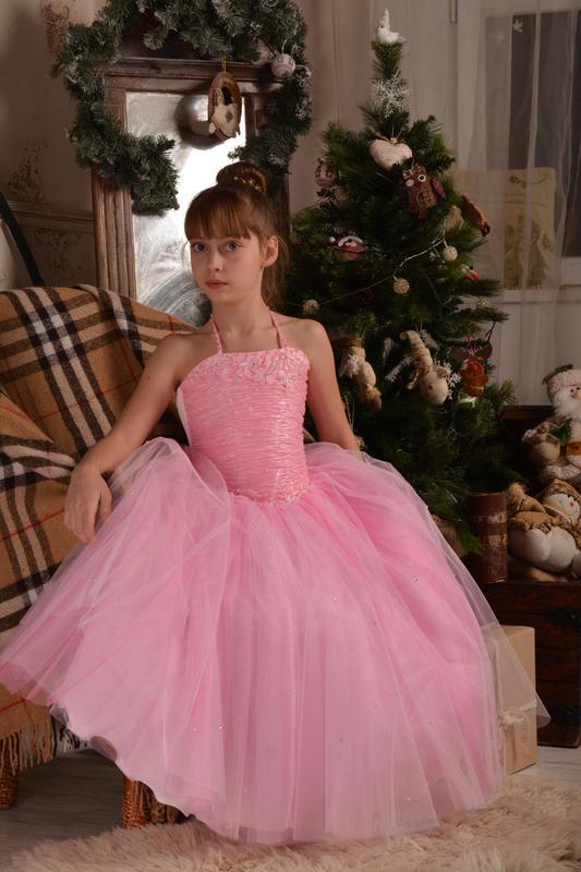 c02cb3c9423 Красивое бальное платье 128-134-1401