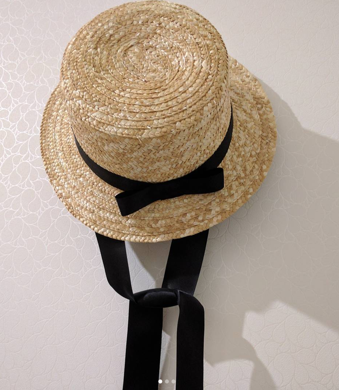 Шляпа с лентами завязками ткань для авто купить в краснодаре