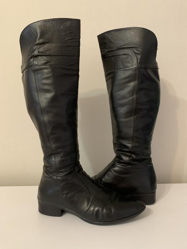 Зимние кожаные сапоги еврозима Турция, цена - 350 грн, #52553777, купить по доступной цене | Украина - Шафа