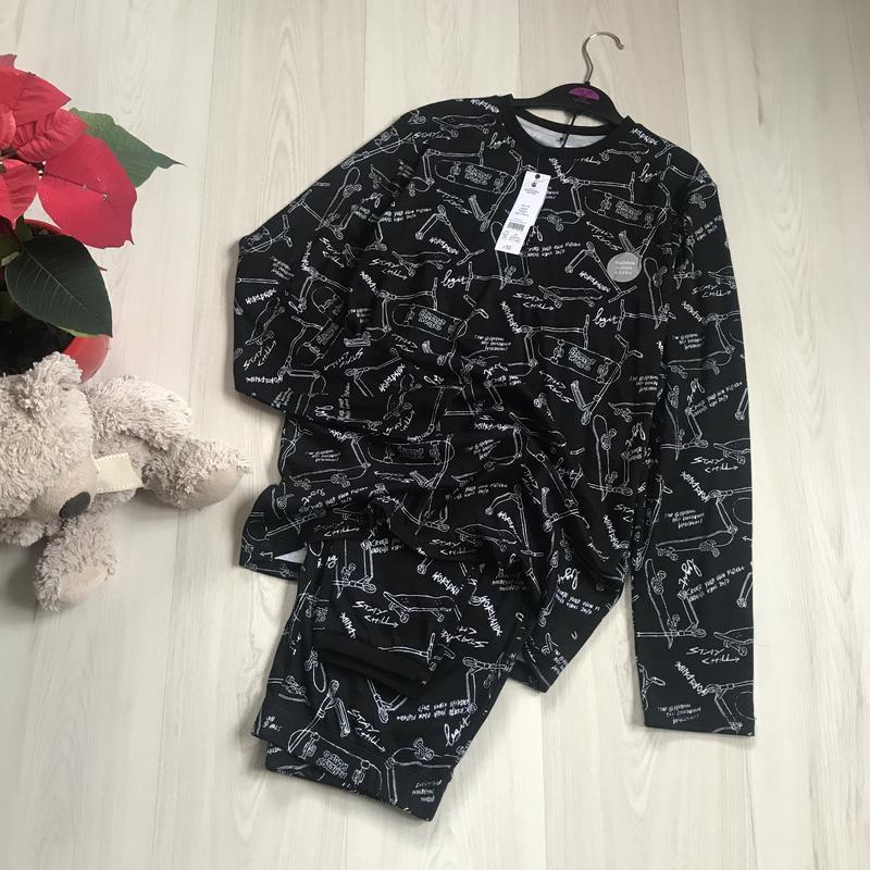 Новая хлопковая пижама george на мальчика 14-15 лет George, цена - 390 грн, #52705356, купить по доступной цене | Украина - Шафа