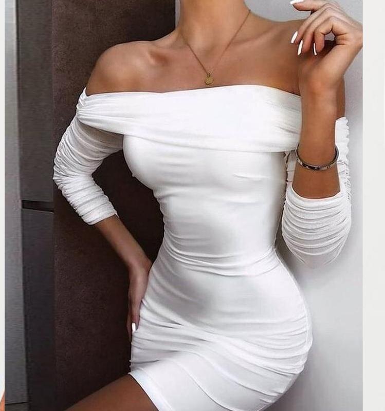 Распродажа платье oh polly мини с открытыми плечами asos Oh Polly, цена - 450 грн, #52714278, купить по доступной цене   Украина - Шафа