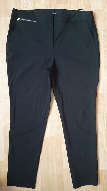 Офисные стречевые нстур.брюки 50-52р F&F, цена - 185 грн, #53108312, купить по доступной цене | Украина - Шафа