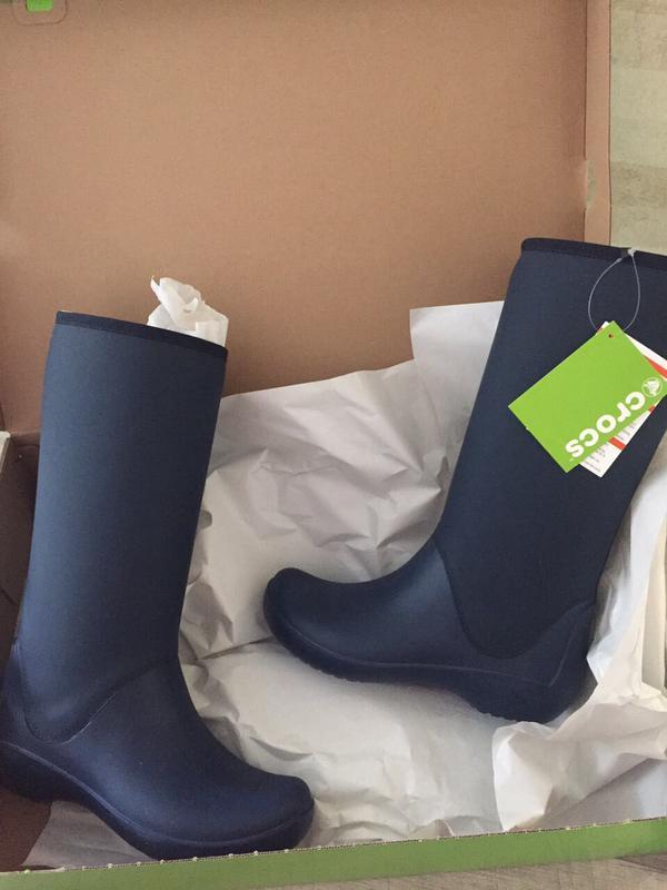 d93f9c2980e7 Сапоги crocs rain floe tall boot (Crocs) за 899 грн.