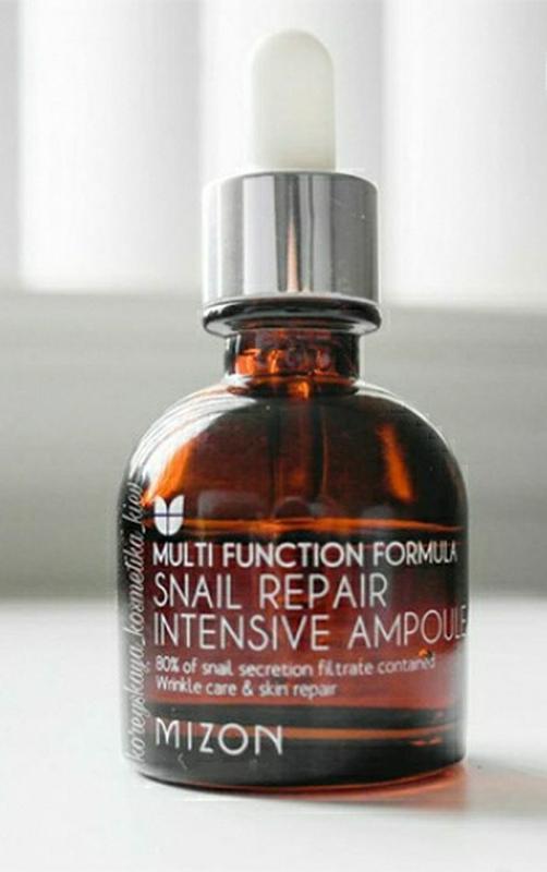 Восстанавливающая улиточная сыворотка mizon snail repair intensive ampoule, 30 мл - купить по доступной цене в Украине | SHAFA.ua