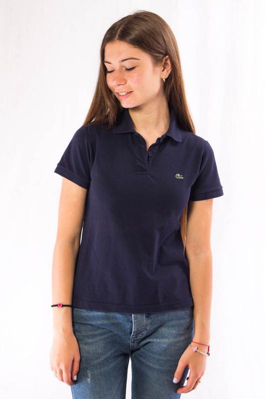 84f861e10b701 Поло женское темно-синее lacoste (m) Lacoste, цена - 179 грн ...