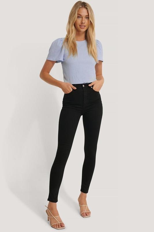 Чорні джинси NA-KD, цена - 550 грн, #53853284, купить по доступной цене | Украина - Шафа