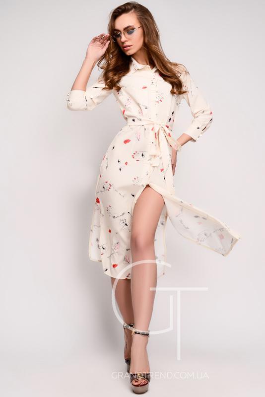 Купить легкое шифоновое платье