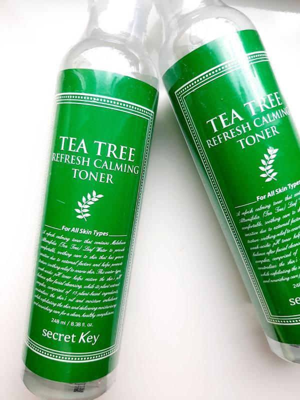 Тонер для лица с экстрактом чайного дерева secret key tea tree refresh calming toner - купить по доступной цене в Украине   SHAFA.ua