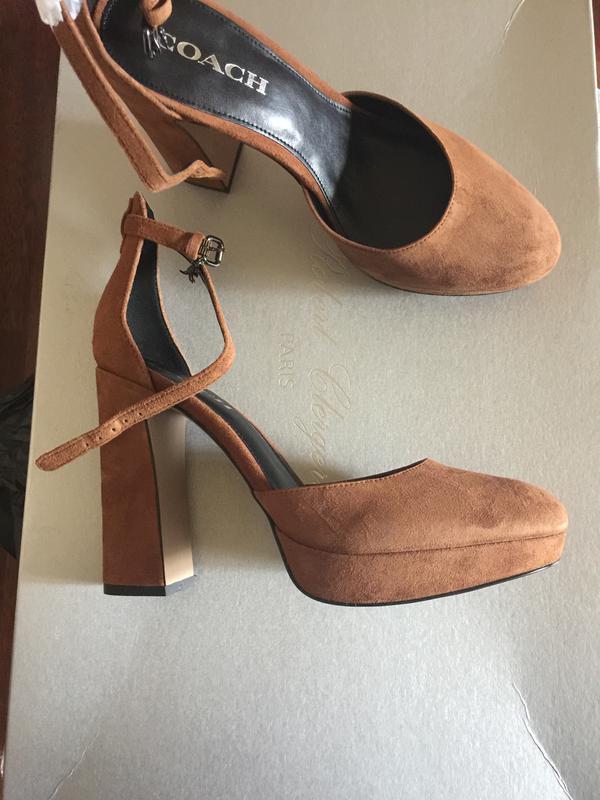 Замшевые туфли coach Coach, цена - 1750 грн,  6417114, купить по ... e4e48abf917