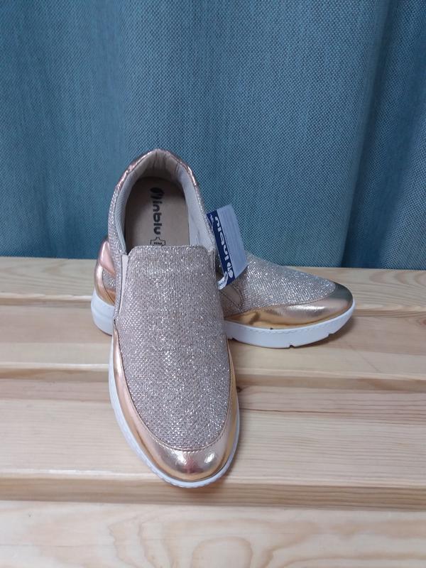 ba84d333 Гламурные кроссовки с кожаной стелькой Inblu, цена - 660 грн ...