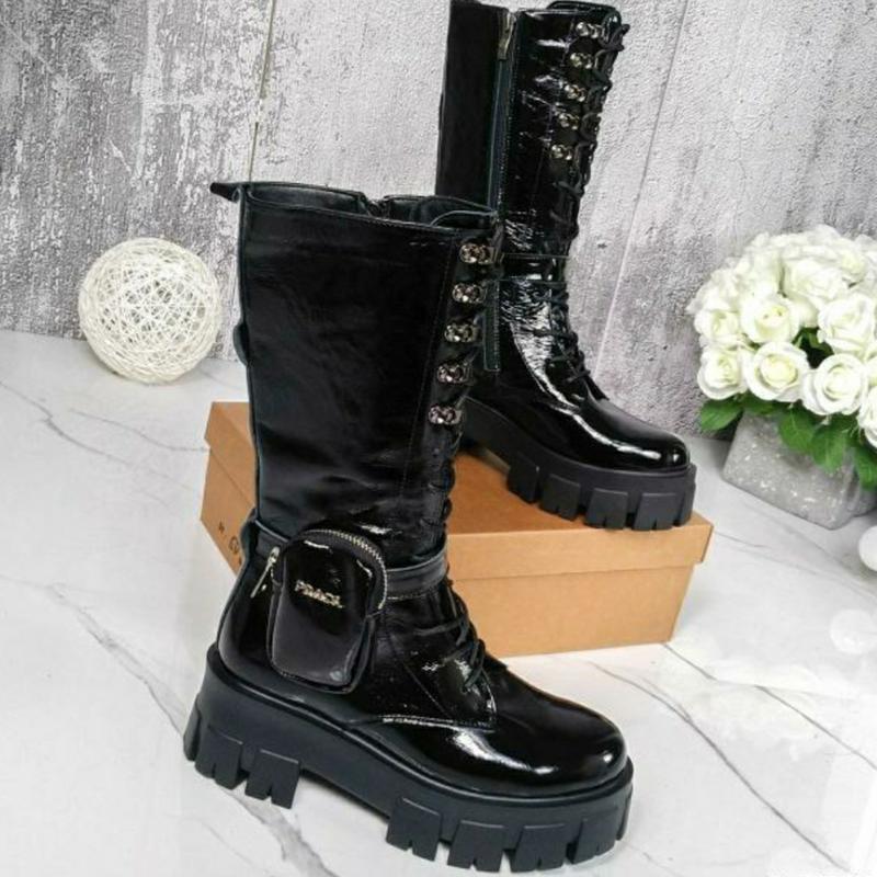Сапожки- ботинки рrad@ Турция, цена - 850 грн, #54721569, купить по доступной цене | Украина - Шафа