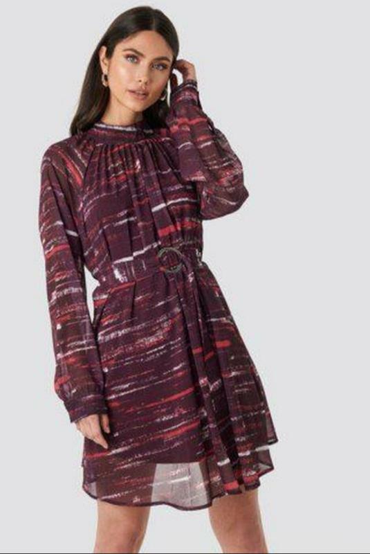 Шифоновое платье na-kd длинный рукав NA-KD, цена - 190 грн, #54433139, купить по доступной цене | Украина - Шафа