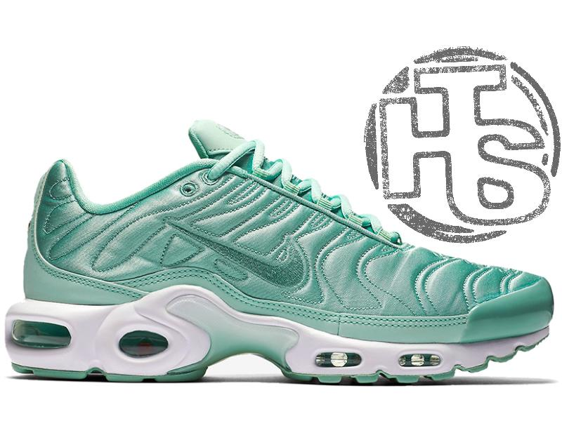 f4ba1509afc8 Крутые кроссовки nike air max tn plus satin pack green 830768 3311 ...