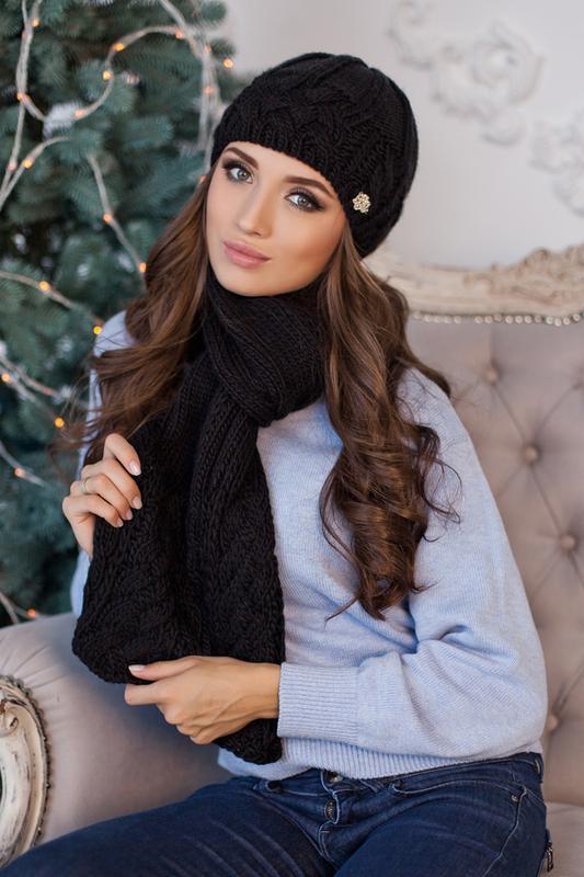 Набор шапочка и шарф, можно отдельно шапку или шарф. распродажа. Braxton, цена - 280 грн, #54877878, купить по доступной цене | Украина - Шафа