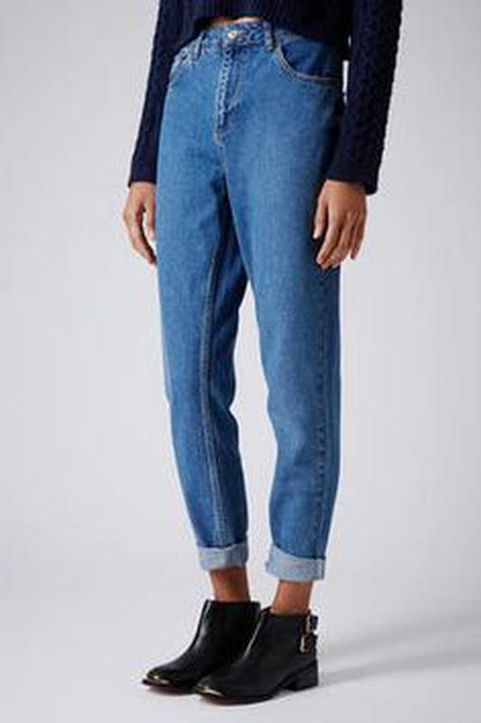 e6b5ce660d5 Новые джинсы levis синие голубые mom jeans высокая завышенная талия1 фото  ...
