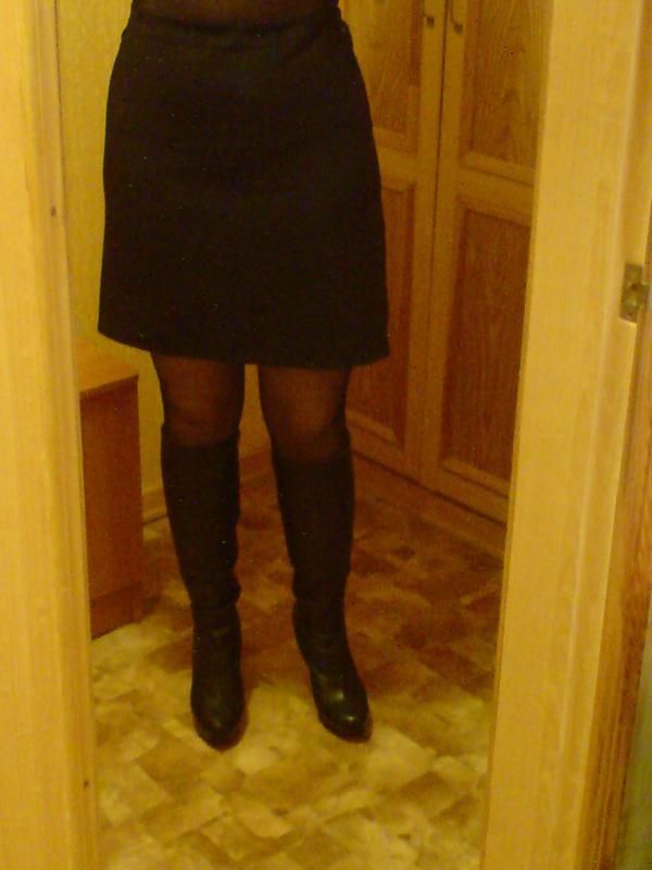 Супер юбка трапеция (спідниця) черн р 46 ae2e30581de8d