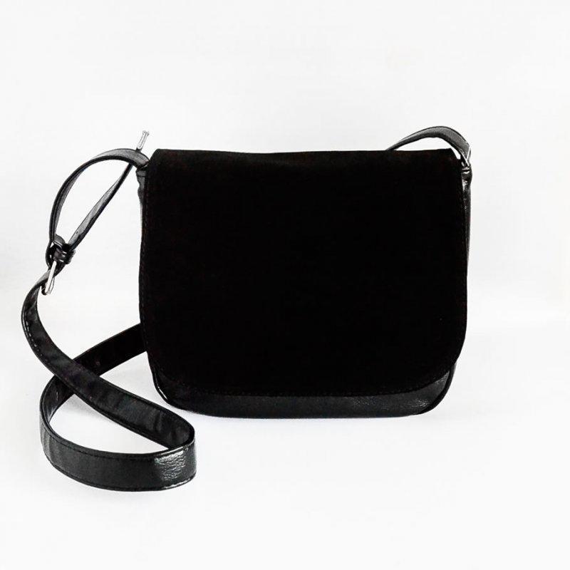 5ee946fac2a3 Молодежная женская сумочка на плечо замшевая планшетная, цена - 405 ...