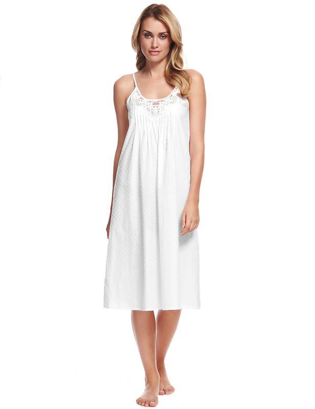 ff5287db8fc42 Легкая летняя хлопковая ночная рубашка от