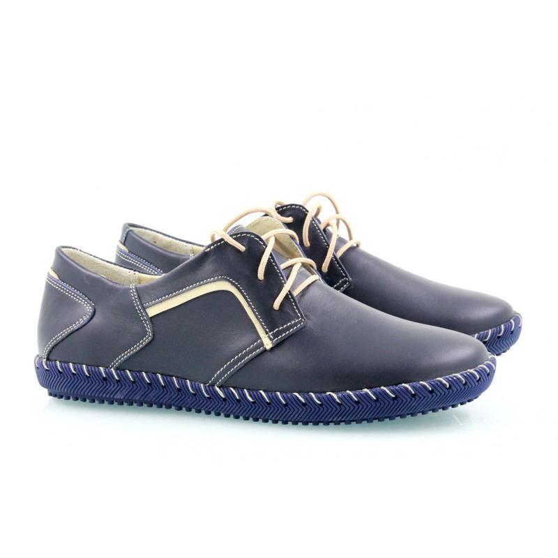 13ec0c372c2 Спортивные женские кожаные синие туфли-мокасины на шнуровке.35,37 размер1  фото ...