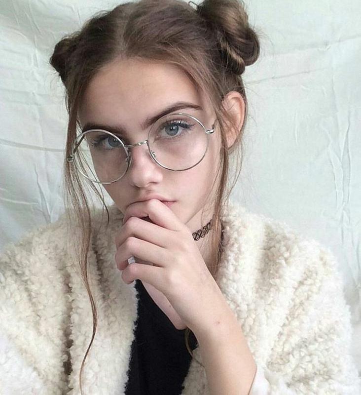 4a6b7bf2c1a Круглые очки для имиджа, имиджевые очки нулевки в оправе цвет серебро за  100 грн. | ...
