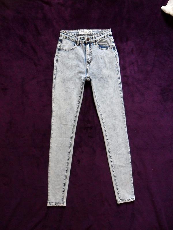 0593dcf70f5 Cтильные светлые джинсы варенки скинни fb sister
