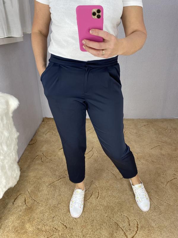 Красивые укорочённые брюки F&F, цена - 230 грн, #56532719, купить по доступной цене | Украина - Шафа