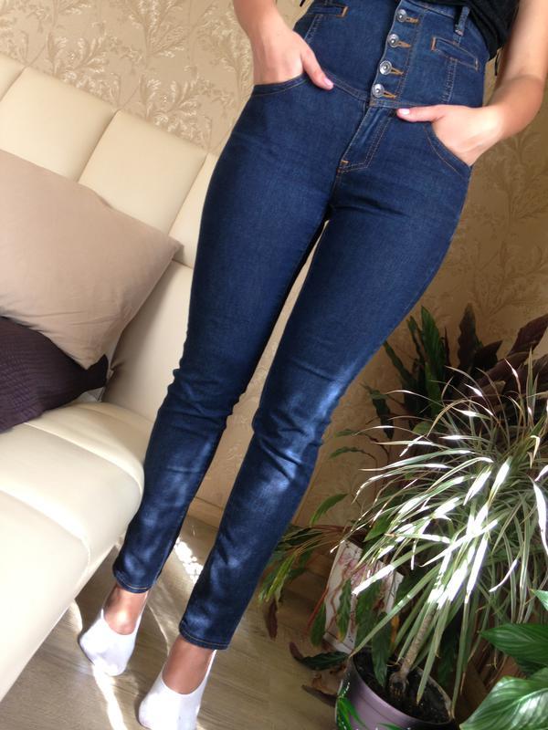 Нові джинси з високою талією бренду mango Mango 53d66462c4cb2
