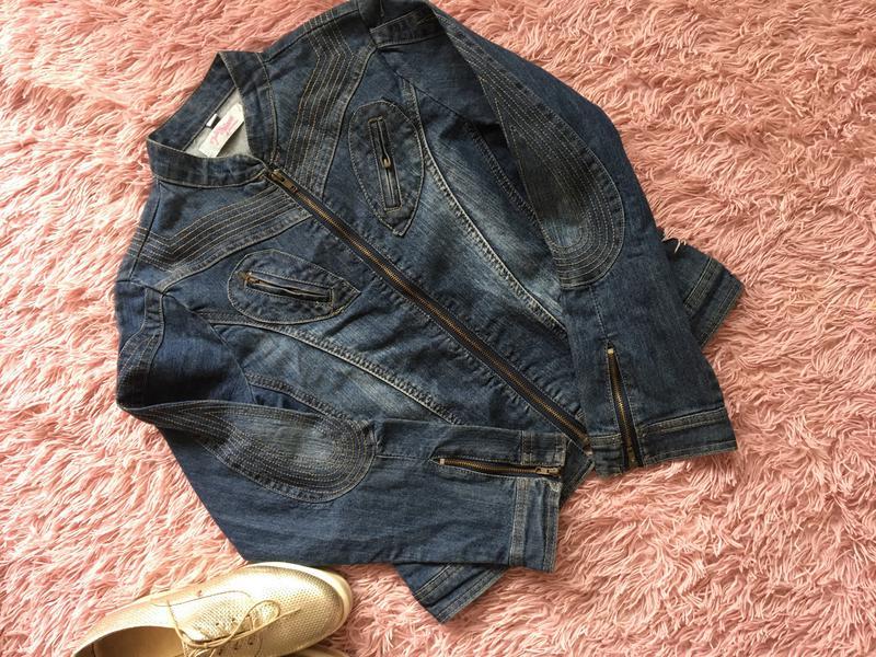Нова джинсова куртка піджак1 ... c00952a32a47e