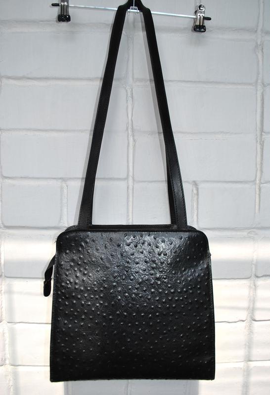 99e5bb579406 Итальянская сумка женская натуральная кожа страуса Италия, цена ...