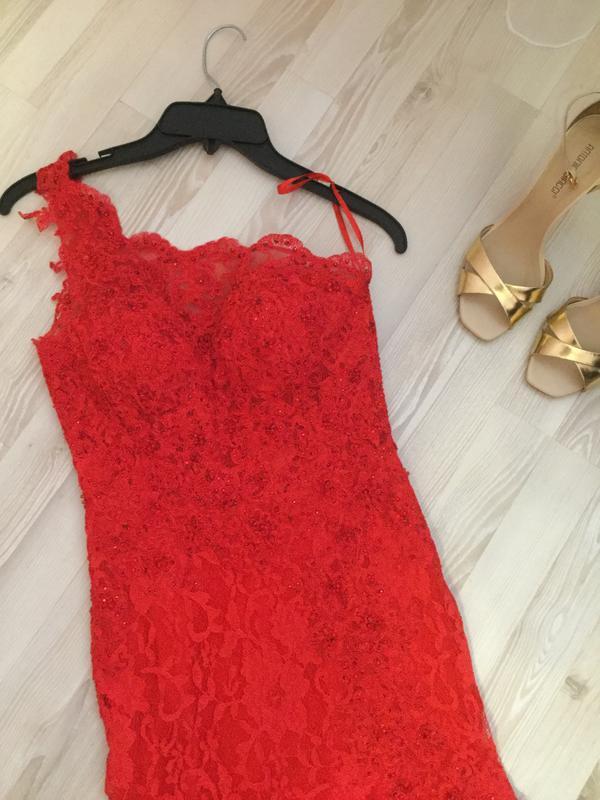 a411e29c1bd Платье на выпускной. красное вечернее платье mori lee1 фото ...