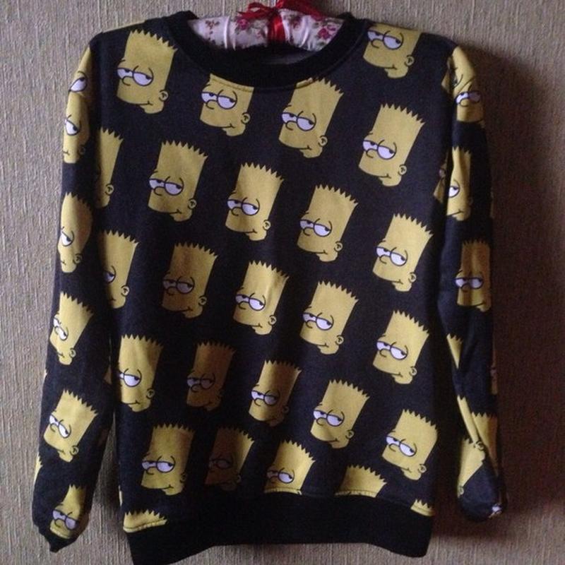5933db49 Свитшот свитер джемпер кофта барт симпсон, цена - 110 грн, #891811 ...