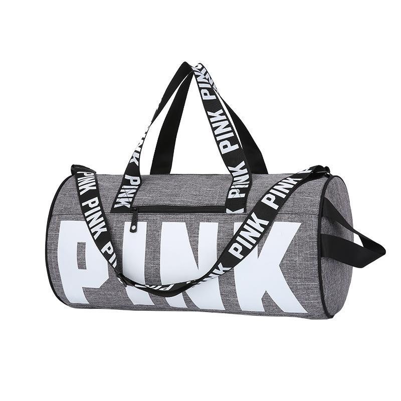 d6a245d6683a Спортивная сумка pink victoria's secret серая Victoria's Secret ...