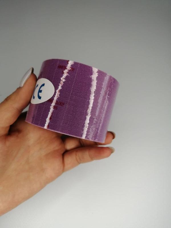 Тейп кинезио 5 см, кинезиологическая лента kinesiology tape, 5 см фиолетовый, цена - 95 грн, #57595910, купить по доступной цене | Украина - Шафа