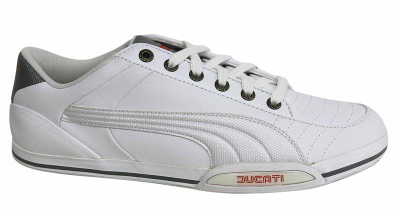 Кроссовки белые puma ducati