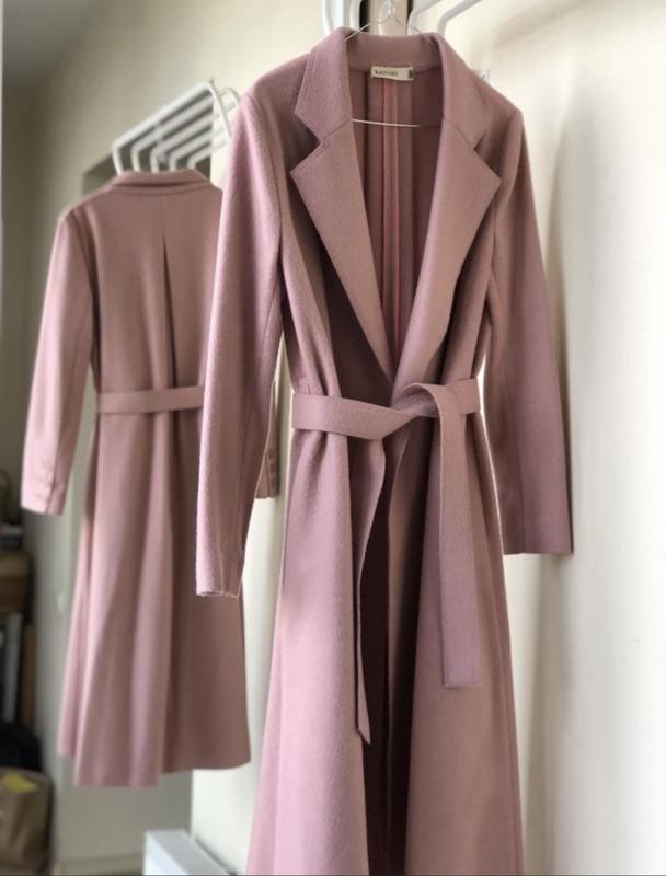 Стильное пальто миди с асимметричным низом ZARA, ціна - 799 грн, #58182282, купить по доступной цене | Украина - Шафа