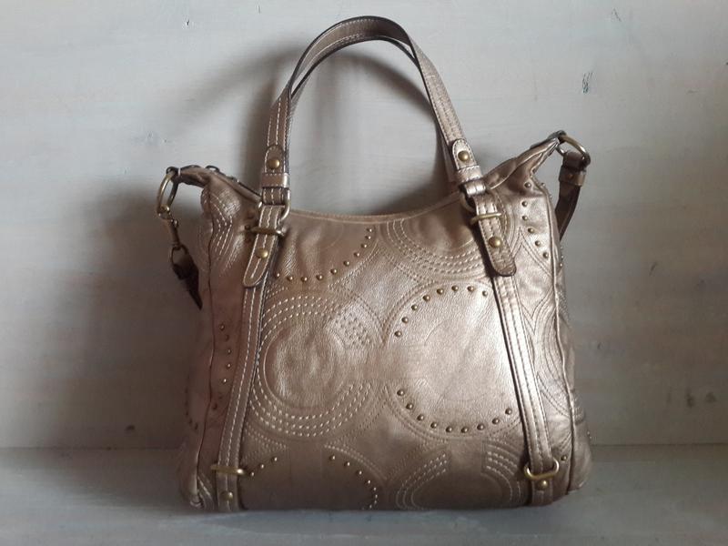 2d865cd9e99f Coach.кожаная сумка.оригинал Coach, цена - 600 грн, #6904612, купить ...