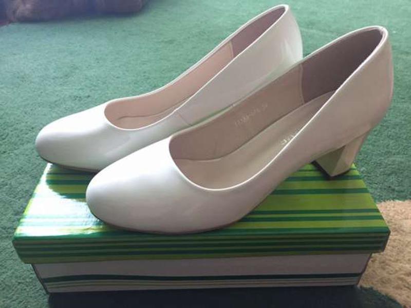 Белые туфли 6e635b759d9f8