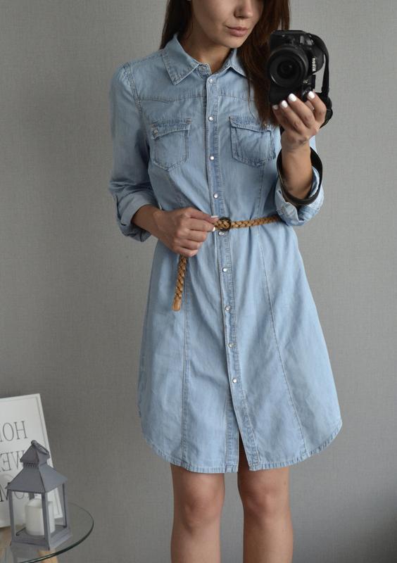 9a38792c449 Джинсовое платье-рубашка dorothy perkins Dorothy Perkins