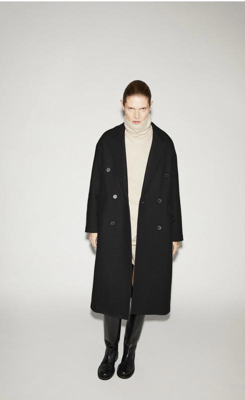 Пальто ZARA, ціна - 2299 грн, #58855732, купить по доступной цене | Украина - Шафа