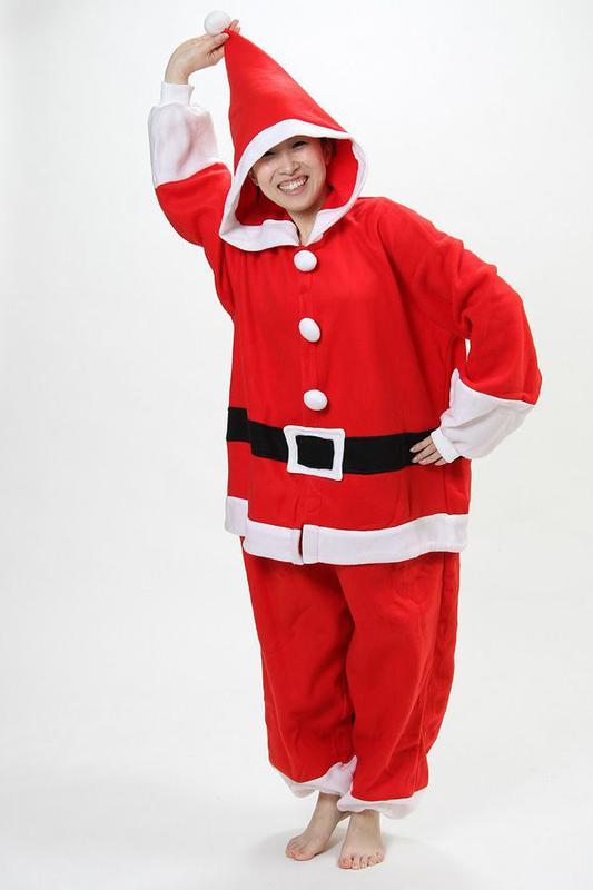 Пижама кигуруми слип комбинезон санта клаус на 12-13 лет рост 152-158см1 ... e5cfa708a5533