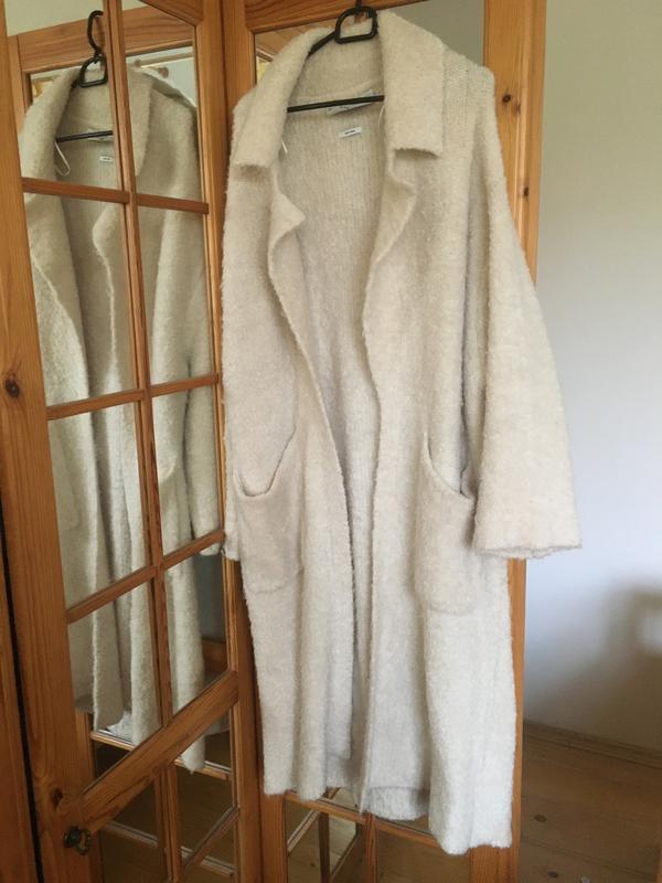 Шерстяное пальто-кардиган ZARA, ціна - 499 грн, #58887263, купить по доступной цене | Украина - Шафа