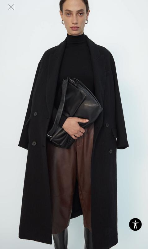 Акция!! шерстяное пальто премиум качество zara оригинал ZARA, ціна - 1700 грн, #59026709, купить по доступной цене | Украина - Шафа