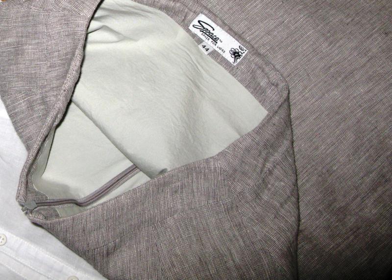 39b3c0726a2 ... Женский деловой костюм лён tm space 42-44 юбка блузка жилет4 фото ...