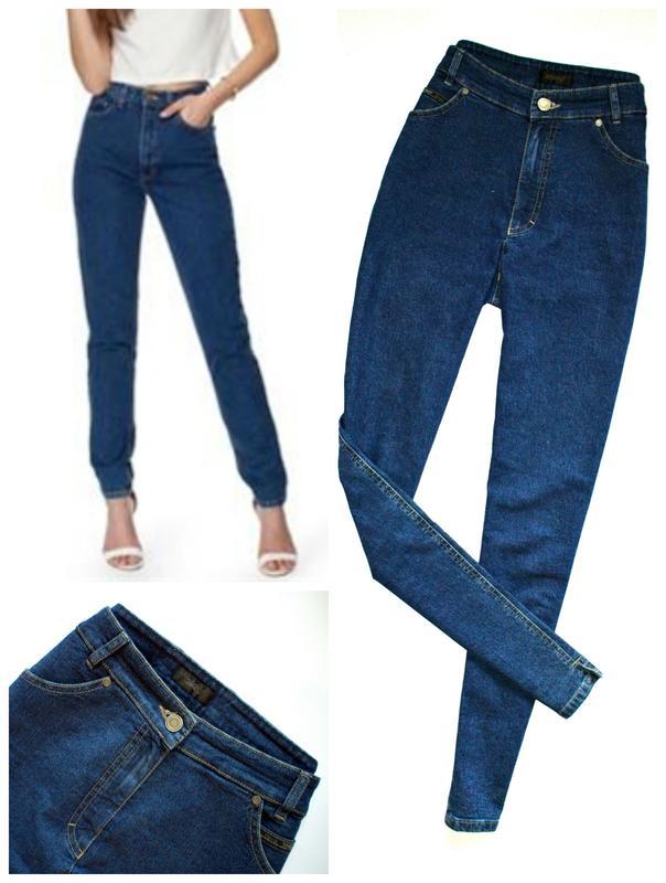 9ba4ba69de6 Mom jeans slim очень высокая талия1 фото ...