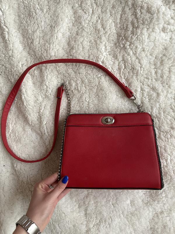 Красная сумка Stradivarius, цена - 240 грн, #59753627, купить по доступной цене | Украина - Шафа